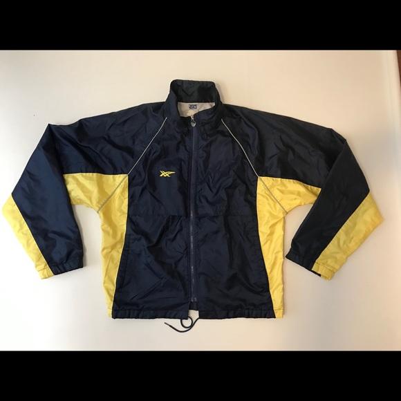 ASICS vintage windbreaker jacket